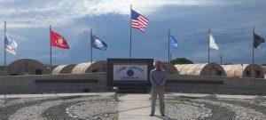 Leontiy Korolev at Guantanamo Bay, Cuba on Memorial Day, 30 May 2016