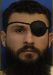 Abu Zubaydah - Eye patch -- darker - facing front