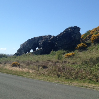 Isle of Cumbrae Lion Rock