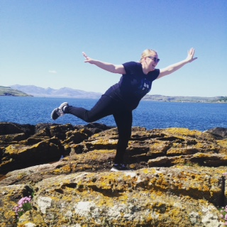 Me on the Isle of Cumbrae