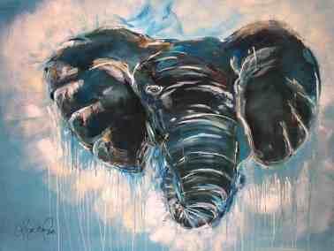 Stærk elefant