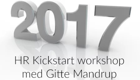 2017 HR Kickstart workshop