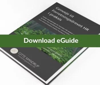 Download eGuiden Genveje til Forretningsdrevet HR