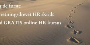 Gratis online HR kursus 2016 @ Gitte Mandrup