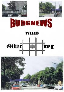 Burgnews wird Gitter weg