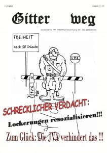 Gitter weg, Ausgabe 3 / 13