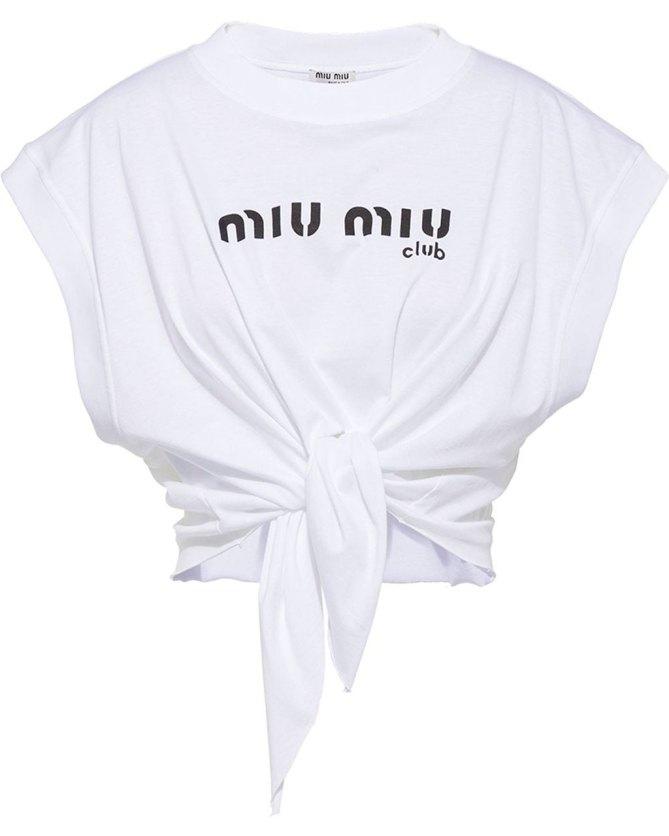 MIUMIU crop top