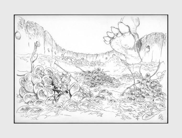 lemuri il visionario disegno di giulio de vita