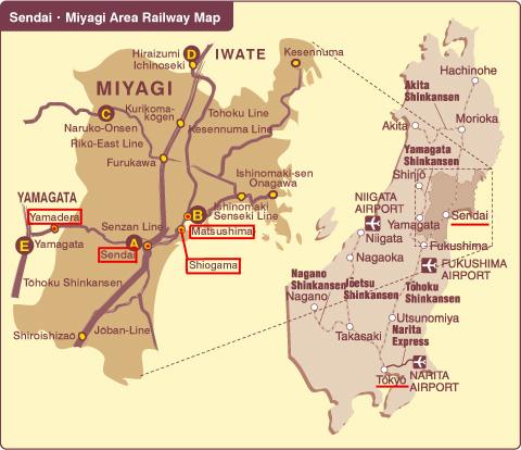Senzan Line, da Sendai per Yamadera