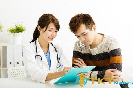 Tư khám sức khỏe tổng quát định kỳ cho nam giới
