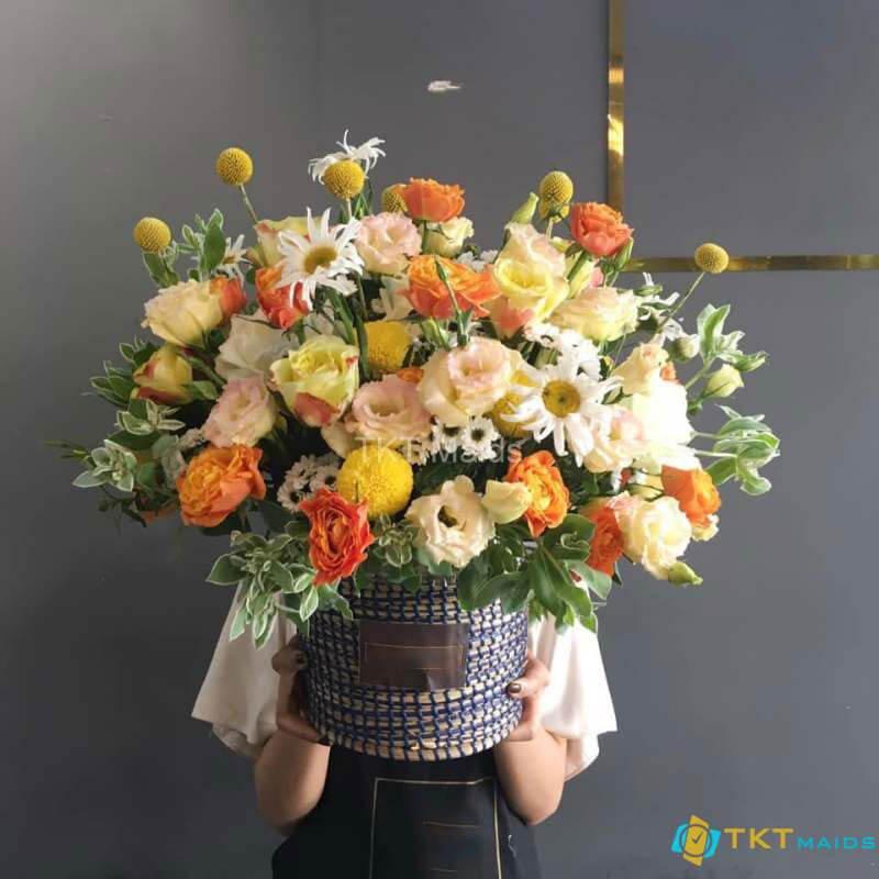 Nghệ thuật cắm hoa phong cách hiện đại