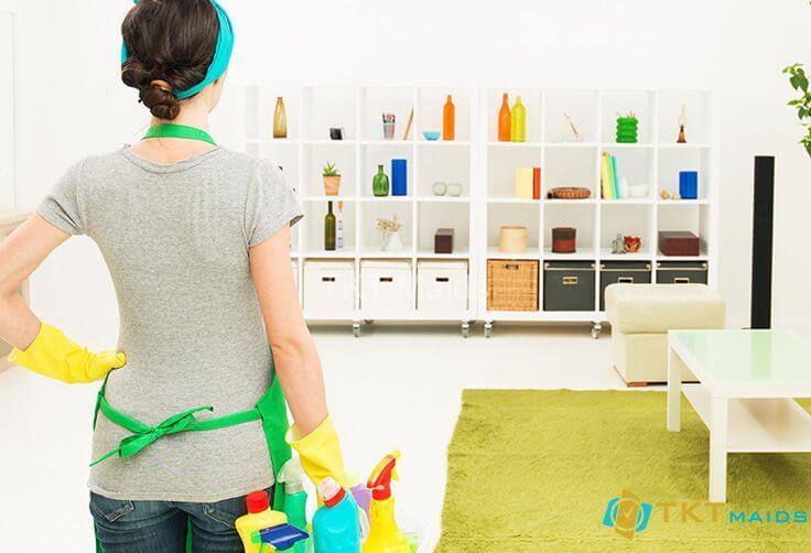 Hình ảnh minh họa: cách dọn dẹp phòng khách