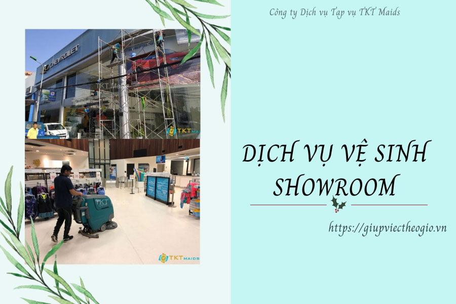 Dịch vụ vệ sinh showroom