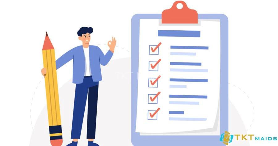 Làm thế nào để sử dụng checklist công việc vệ sinh