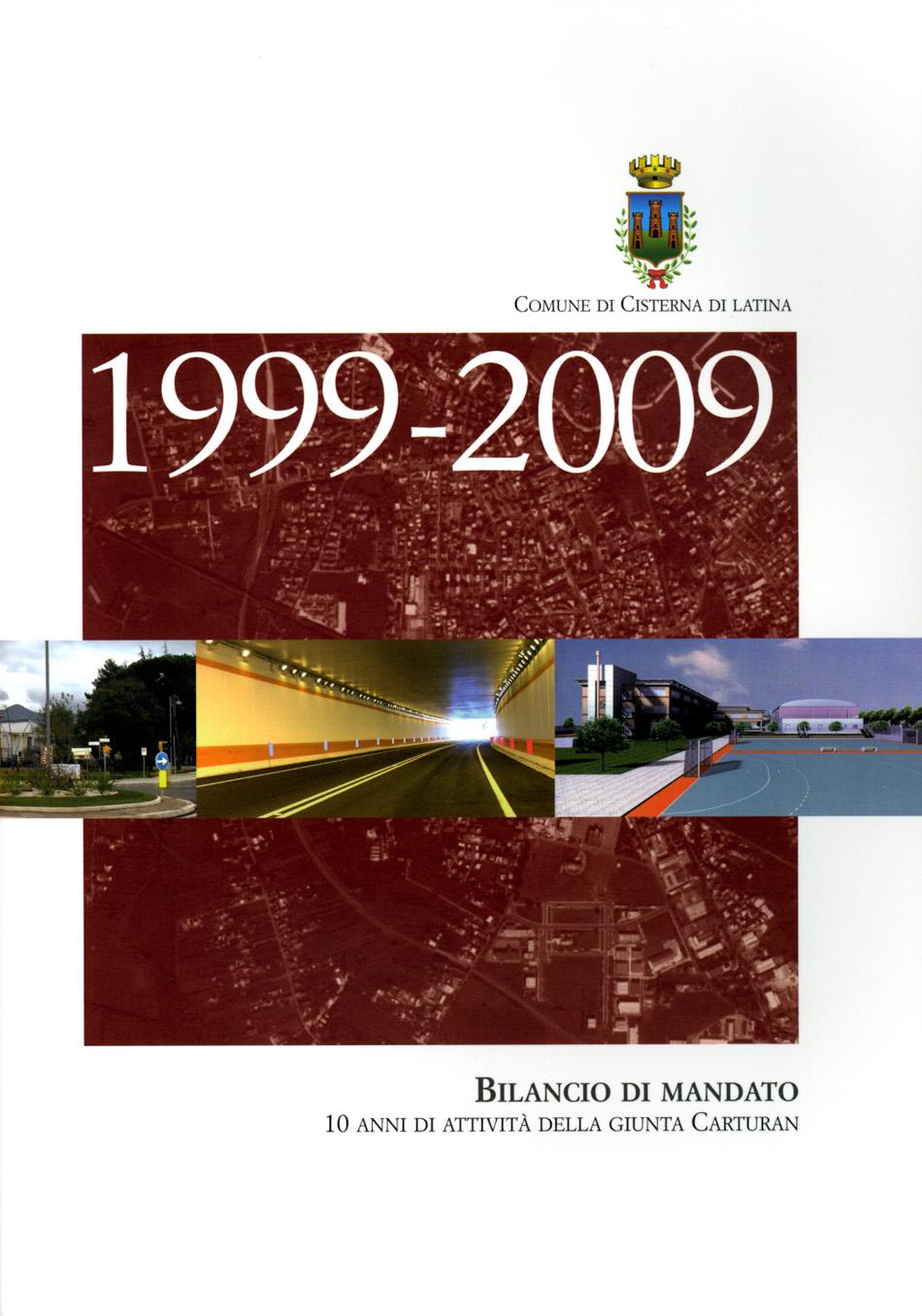 Copertina Bilancio Mandato Libro