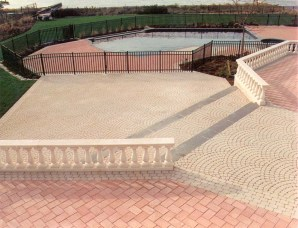 Back yard patio contractor long island