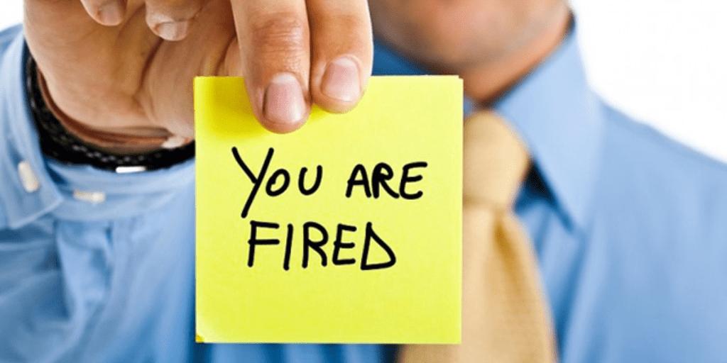 licenziare un dipendente