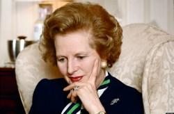 Prime Minister Margaret Thatcher At 10 Downing Street