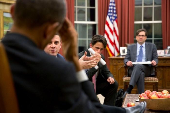 Obama nello Studio Ovale
