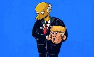 Montgomery Burns nelle inedite vesti di Donald Trump