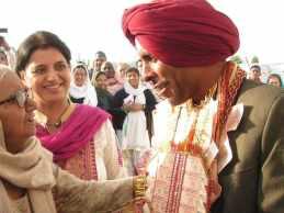 Glückwünsche für den Bräutigam