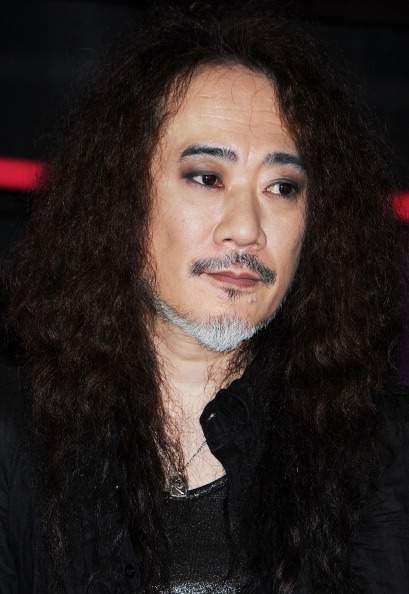 TOKYO, JAPAN - MAY 20: Musician Pata of X Japan attends the X Japan wax figure unveiling press conference at Madame Tussauds on May 20, 2013 in Tokyo, Japan. (Photo by Jun Sato/WireImage)