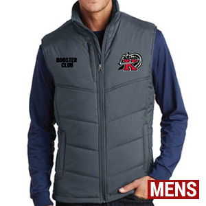 Gray Vest - Mens