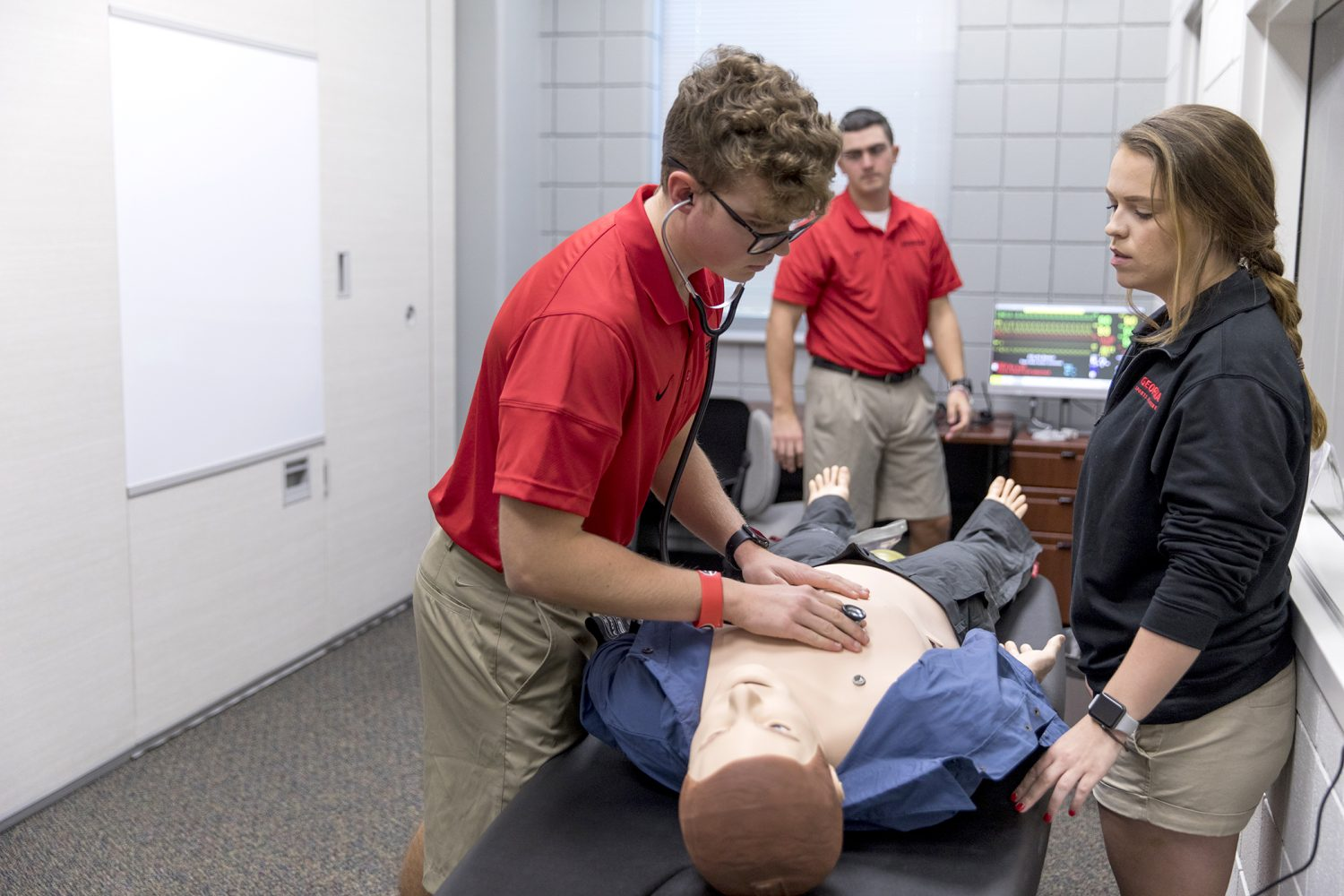 State Of The Art Lab Opens For Athletic Training Students