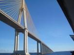 Iranduba Bridge.