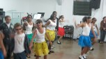 The older group dancing.