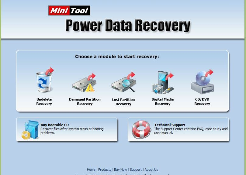 MiniTool Power Data Recovery Personal Edition