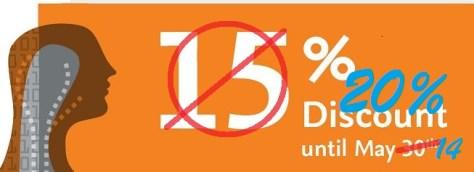 20% Discount Voucher