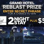 Fireworks Grand Hotel Reblast Contest