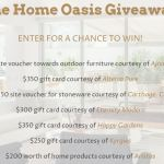 The Home Oasis Giveaway