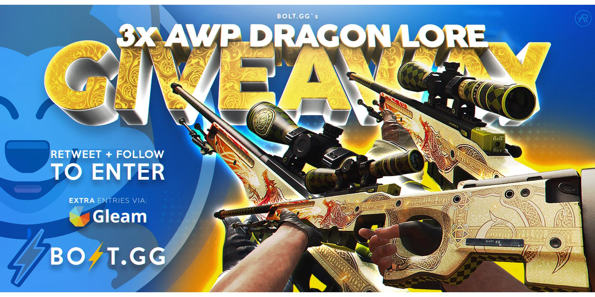 Win AWP Dragon Lore CS:GO Skins Giveaway