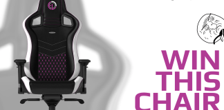 "Noblechair ""ELC Limited Edition"" Gaming Chair Giveaway"