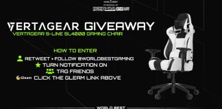 Win VERTAGEAR SL4000 Gaming Chair Giveaway