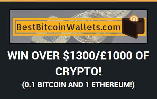 Free Bitcoin and Ethereum Cryptocurrency Giveaway