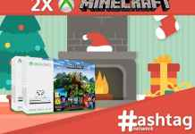 HashtagNetwork - 2x Xbox One S + Minecraft Bundle Giveaway