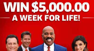 PCH Win $5000 A Week For Life Sweepstakes Entry 2019 (Enter Daily)