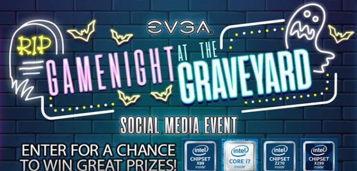 Gaming at the Graveyard Cooler, PSU, MBO and GPU Giveaway