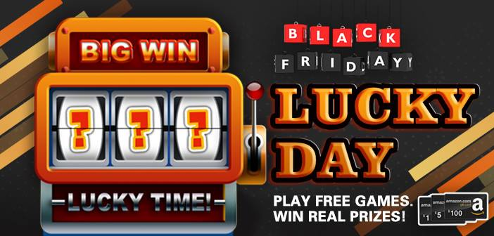 Products, Coupons and Amazon Gift Cards Slots Machine Giveaway