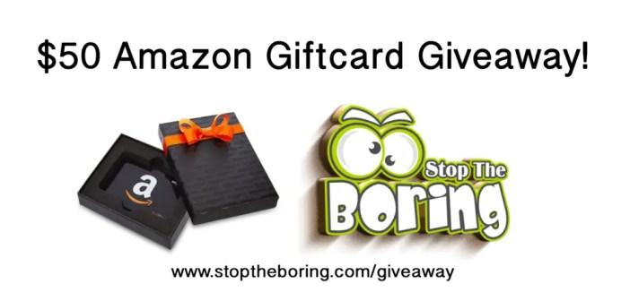 $50 Amazon Giftcard Giveaway