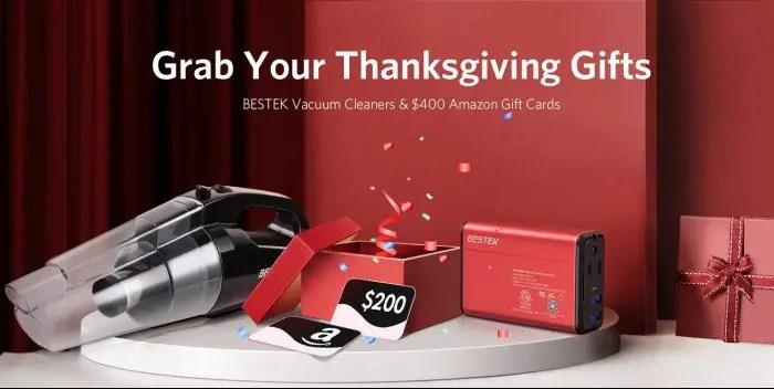 bestek vacuum cleaner and 150w power inverter giveaway giveawaybase. Black Bedroom Furniture Sets. Home Design Ideas