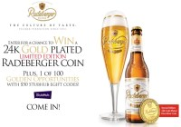 Radeberger Gold Standard Sweepstakes