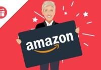 Ellen $300 Amazon Gift Card Giveaway