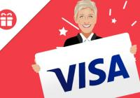 Ellen $500 Visa Gift Card Giveaway