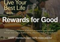 AARP Healthy Kickstart Sweepstakes