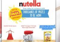 Nutella Happy Pancake Sweepstakes