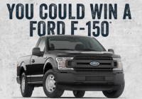 Sheplers Ford 150 Truck Sweepstakes